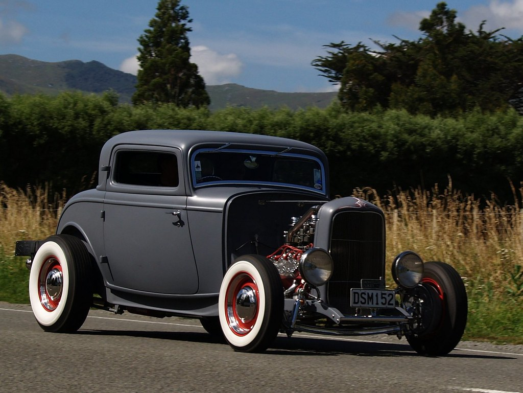 32 ford deuce coupe hotrod by wiredkiwis