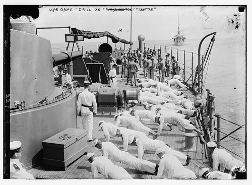 War game- drill on SEATTLE  (LOC) | by The Library of Congress