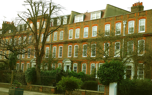 Houses On Northside Clapham Common Stephen Curtis Flickr