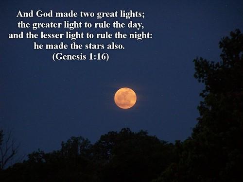 Genesis 1 16 Christian Wallpaper David Gunter Flickr
