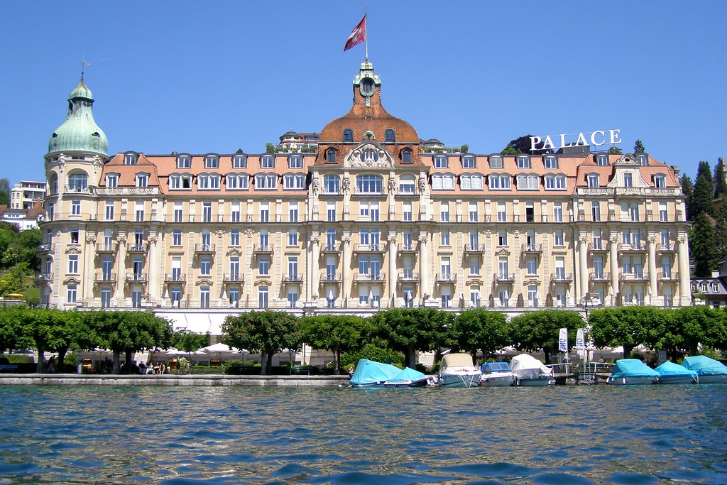 Palace Hotel Lucerne Switzerland