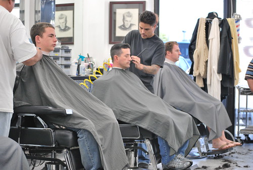 Barber Shop... Men in Action | by Lina's Photography