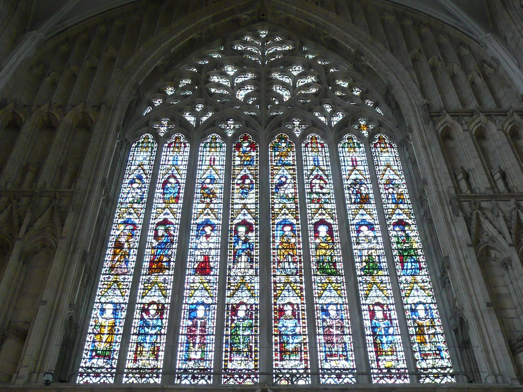 great west window york minster the great west window