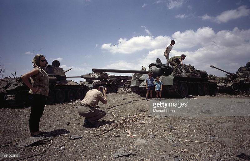 T-34-SU-100-Pz-IV-syrian-booty-1967-gty-1