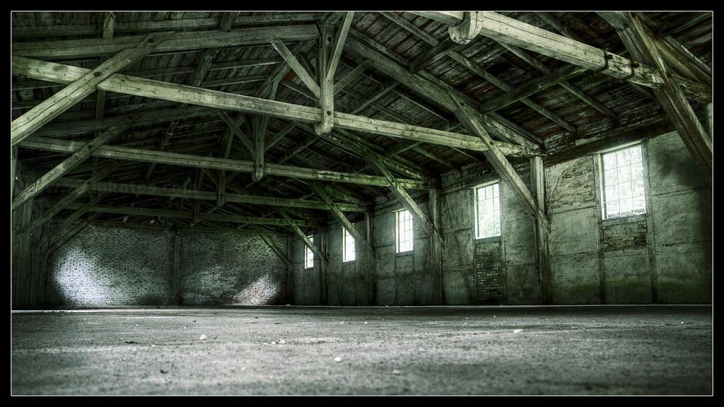 Old Empty Warehouse Ver2 Hdr Image Zbigniew Ratajczak