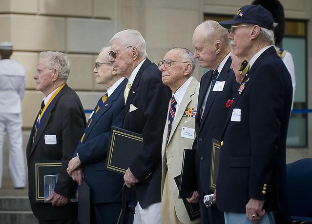 Battle of Midway veterans