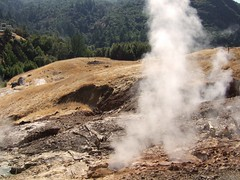 Fumeroles at the Geysers, near Calistoga | by kqedquest
