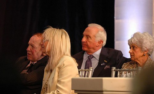 The Adelsons and Semblers listen attentively to Fred's speech | by freddthompson