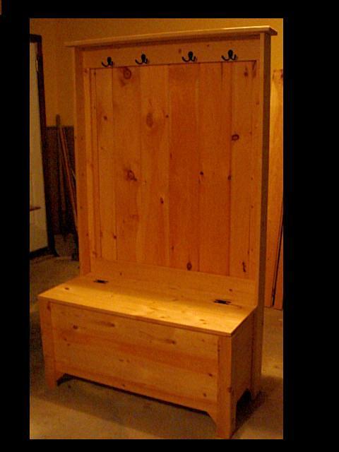 Hall Tree Coat Rack Amp Storage Bench