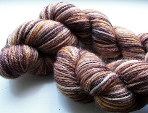 Cinnamon - 2 skeins - Pigeon Roof Studios | by Twisted Knitter