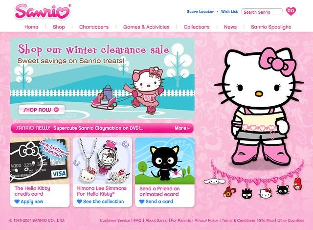 sanriocom  official website home   kitty flickr