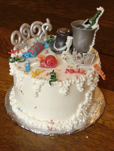 Cake New Years Eve 2018 : new years eve 2008 6