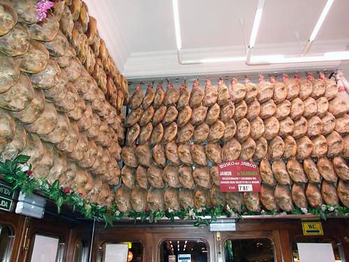 Museo del jamon   algunos jamoncitos del museo del jamon ...