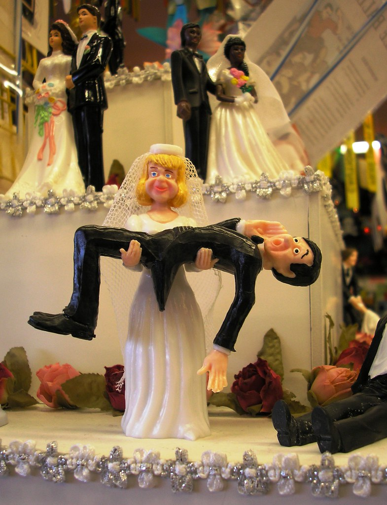 Wedding Cake Toppers With Supra And German Shepherd