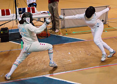 Women's Epee, OUA Finals, 2008 | by Graham Pressey