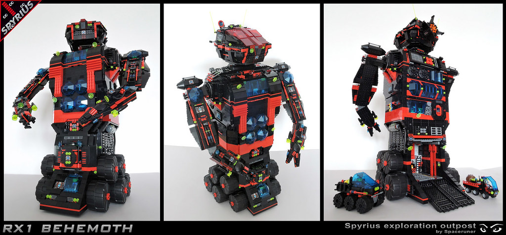 Rx1 Behemoth Rx1 Class Spyrius Robot For Long