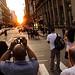 Manhattanhenge Crowd 2011 | New York Sunset