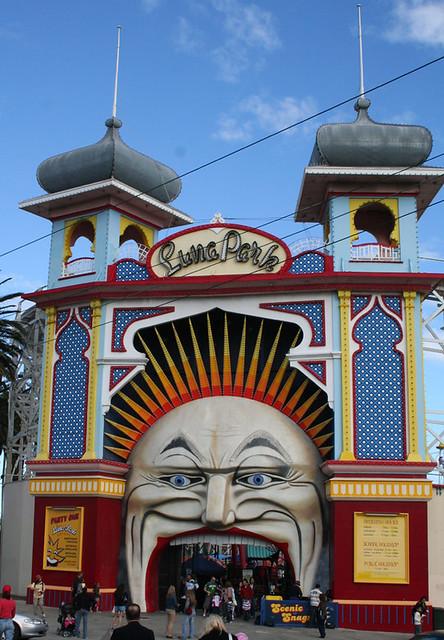 Luna park st kilda melbourne ian t edwards flickr for Puerta 9 luna park