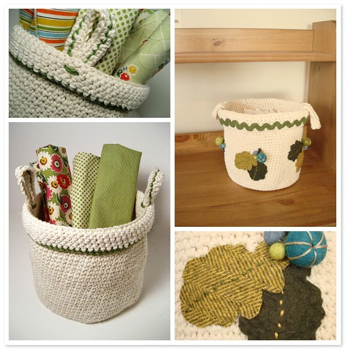 Little crochet basket | by chickpeastudio
