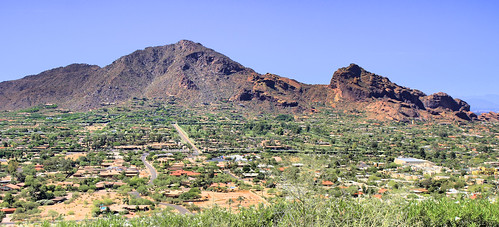 Camelback Mountain From The North You Can Really The