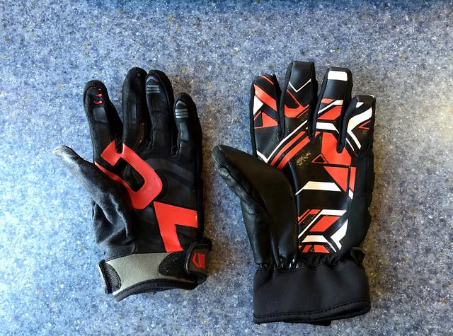 two left gloves
