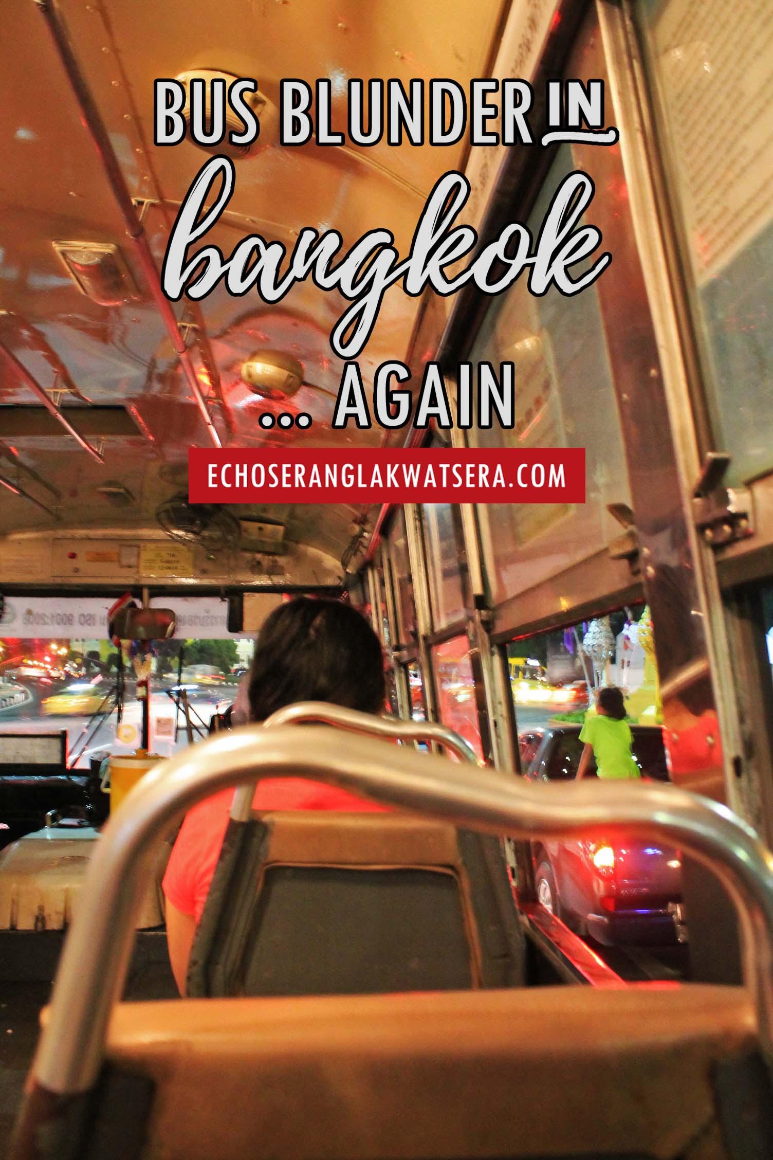 Bangkok Bus Blunder
