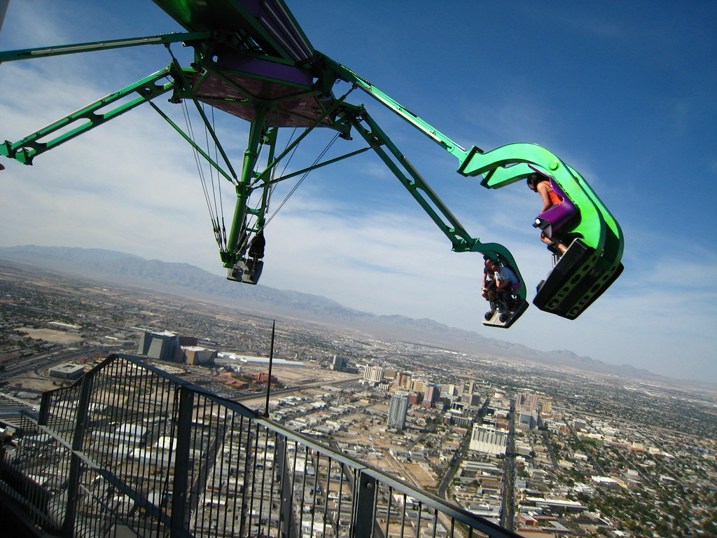 Insanity Ride Stratosphere Las Vegas 900 From Here To