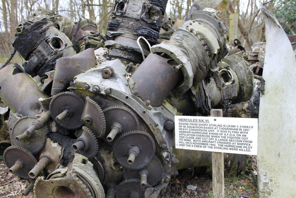 Hercules Mk4 Engine What Were All Those Gear Wheels For