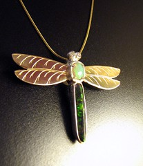 Dragonfly pendant | by Different Seasons Jewelry