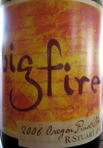 Bigfire 2006 Pinot Noir front | by 2 Guys Uncorked