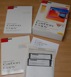 Microcom Carbon Copy 6.1 | by Luigi Rosa