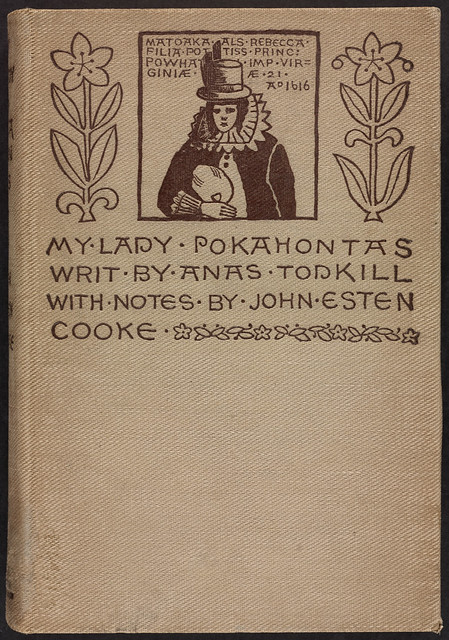 Book Cover Design Job Description : My lady pokahontas writ by anas todkill front cover