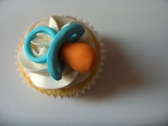 Pacifier Cupcake | by clevercupcakes