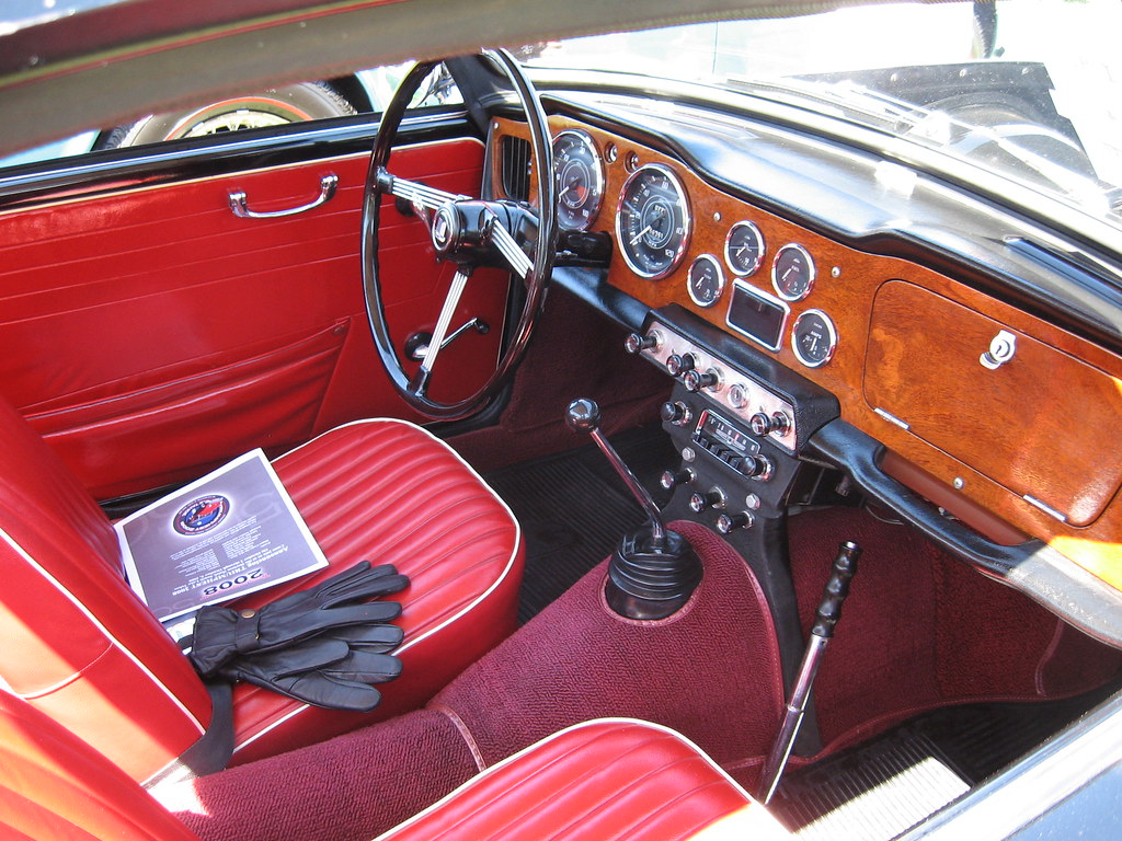 5 Door Car >> 1964 Triumph TR4 Interior | All British Car Show, Yolo Count… | Flickr