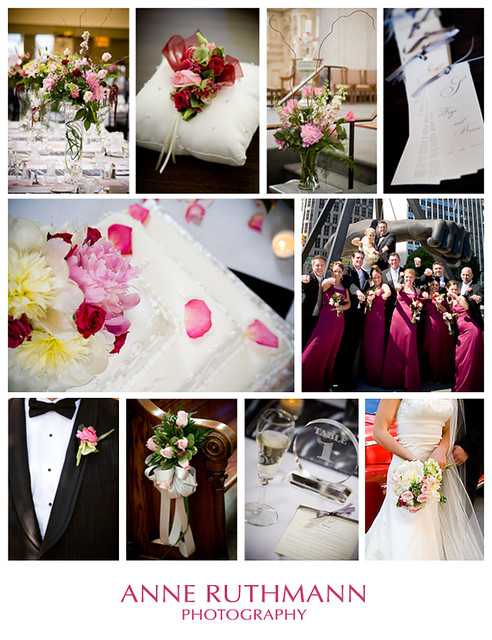 burgundy silk wedding flowers
