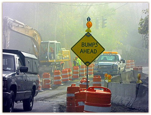 Bumps Ahead | by Henry M. Diaz