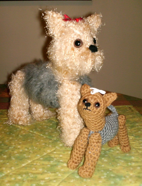 Crochet Pattern For Yorkie Dog : Crochet Yorkie Dog and Puppy Flickr - Photo Sharing!