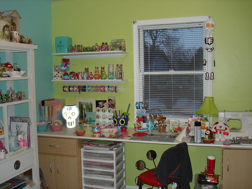 craft room (after) | by gtcowgirl