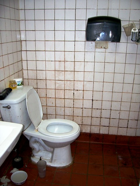employee restroom punkette in training flickr