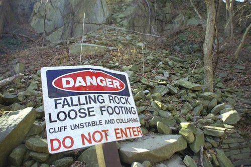 rockslide_sign | by b.centley