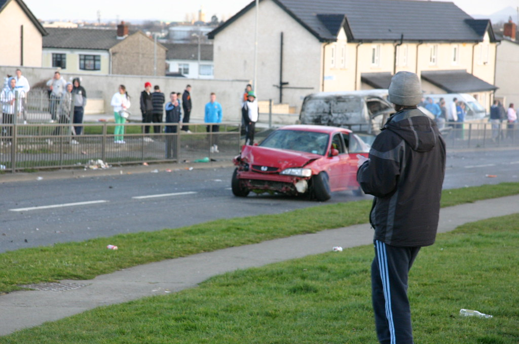 All Car Company >> FINGLAS March 17th - JOYRIDING | Do not copy these or publis… | Flickr