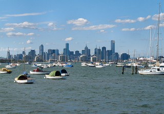 Melbourne City Views From Williamstown | by Dean-Melbourne