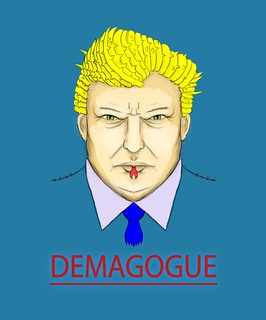 President Demagogue Trump