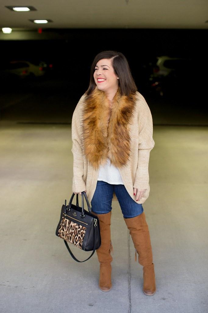 Fur Sweater-@akeeleywhite-Head to Toe Chic