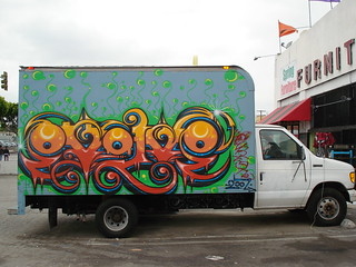 Evolve LosAngeles Truck Graffiti Art | by anarchosyn