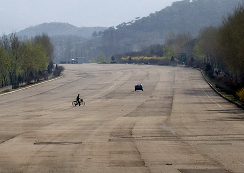North Korean highway - DPRK | by Eric Lafforgue