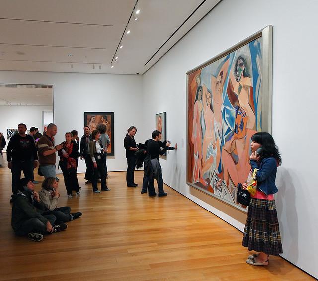 Picasso les demoiselles d 39 avignon pablo picasso les for Painting jobs nyc