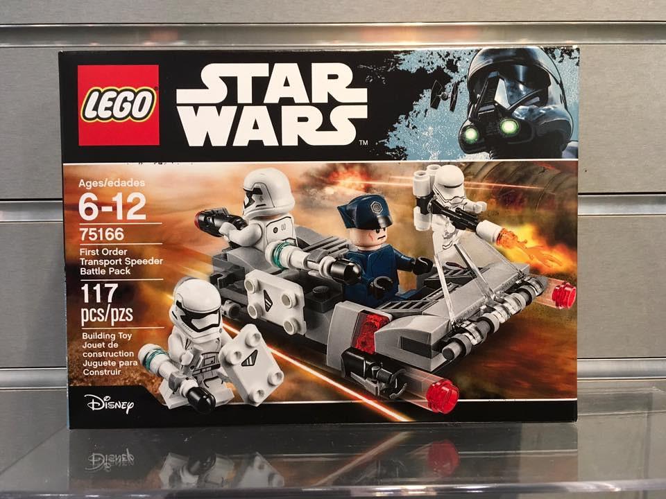 LEGO Star Wars First Order Transport Speeder Battle Pack (75166)