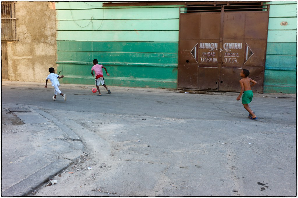 Street Futbol, Havana, February 12, 2017