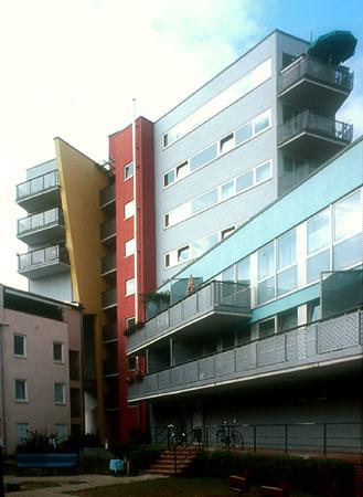 viviendas iba block 2 berlin 1950 zaha hadid up up flickr. Black Bedroom Furniture Sets. Home Design Ideas